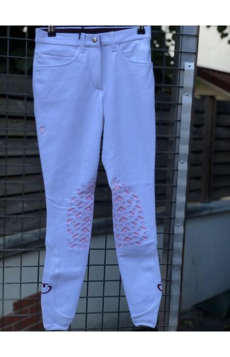 Pantalon Cavalleria Toscana - Blanc/Rose